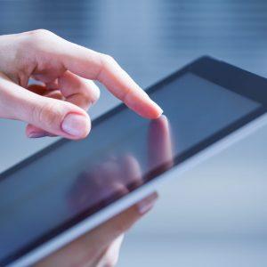Outsourcing comercial - Tablet de muestra de producto